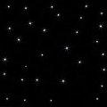 Gwieździste niebo 30 punktów świetlnych na 1m²