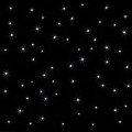Gwieździste niebo 60 punktów świetlnych na 1m²